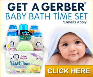 Gerber Bath Set