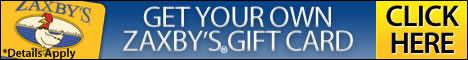 Get your Zaxbys Gift Card.